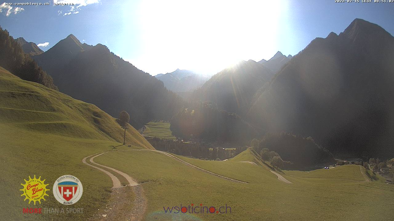 Campo Blenio webcam